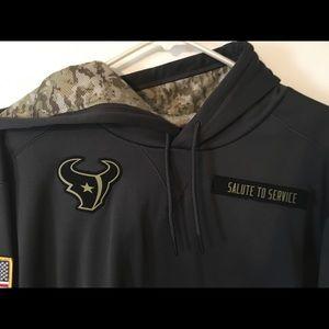 online store 58788 3537a Houston Texans hooded sweatshirt